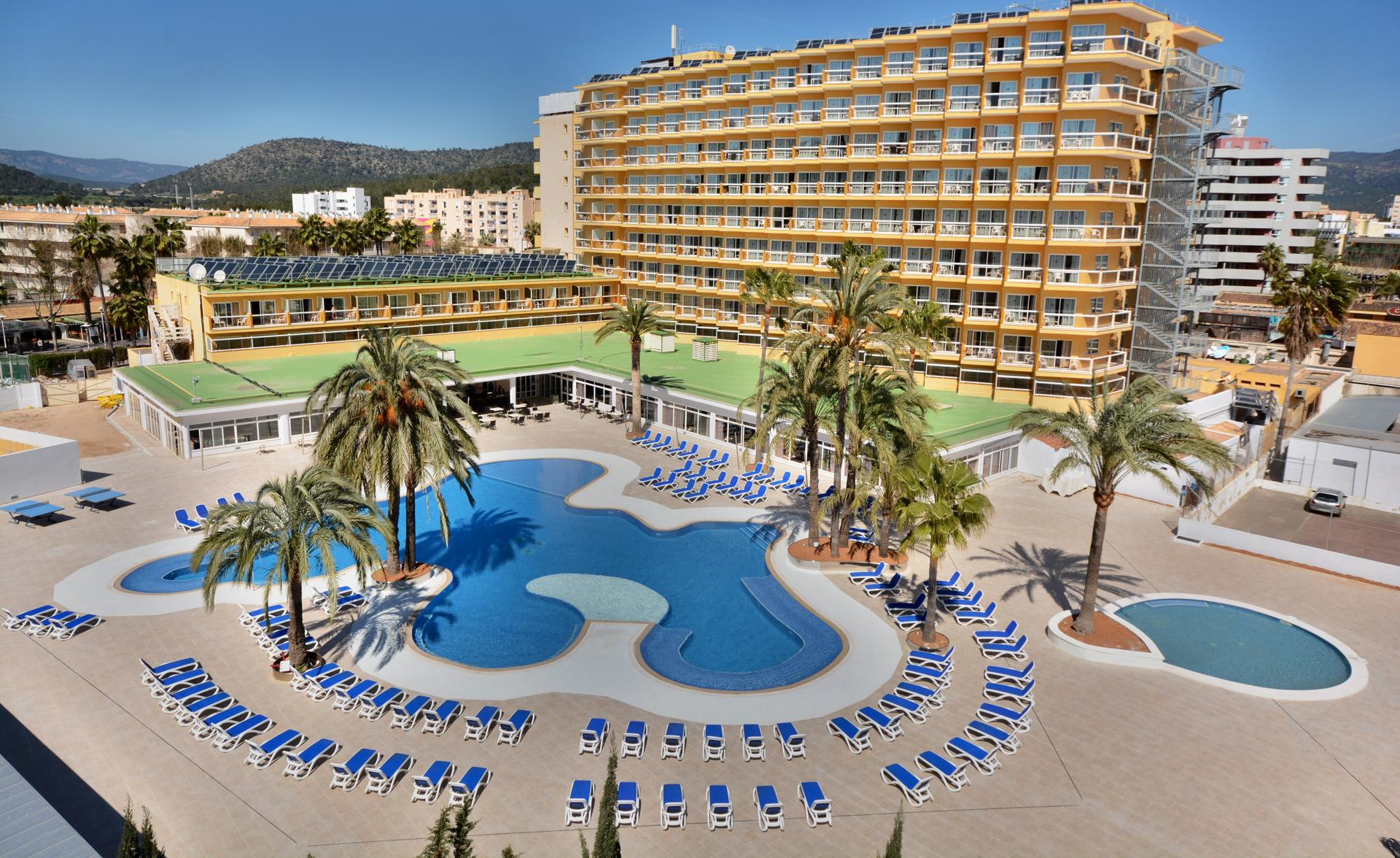 Hotel Samos Magaluf Mallorca